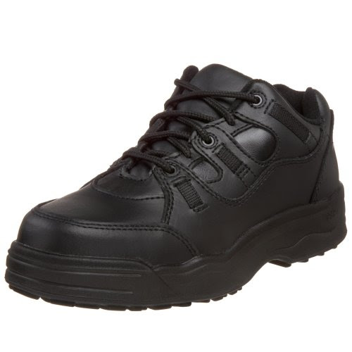 WORX by Red Wing Shoes Men's 6550 Non-Metalic Safety Toe Athletic Oxford,Black,6 M