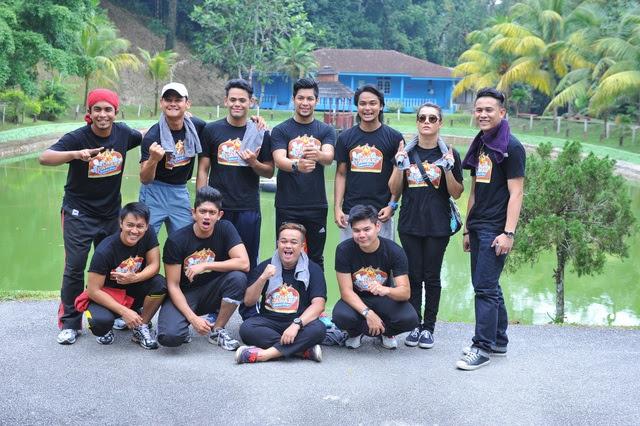 Peserta-peserta Liga Lawak Superstar