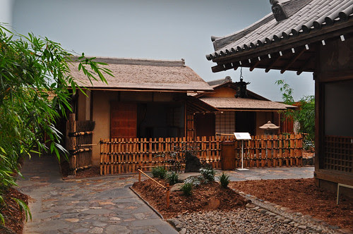 Ceremonial Teahouse Sunkaraku (Evanescent Joys)