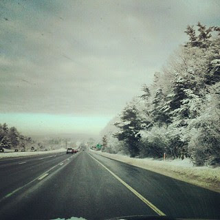 #morning #drive #newengland #snow #winter #enoughalready