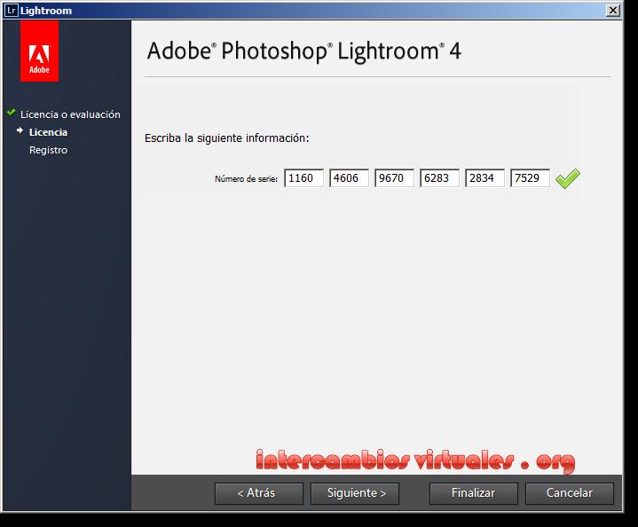Lightroom 6.0 serial number