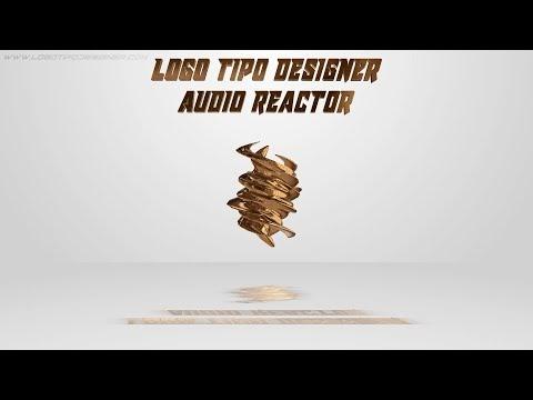 Audio Reactor #04 Editavel Download Grátis Tutorial www logotipodesigner com
