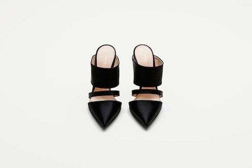 LE FASHION BLOG SHOE CRUSH ALTUZARRA MULE THE LINE BLACK SATIN BANDED HEELED MULES PUMPS VANESSA TRAINA SPRING SUMMER SS 2014 2 photo LEFASHIONBLOGSHOECRUSHALTUZARRAMULETHELINE2.jpg