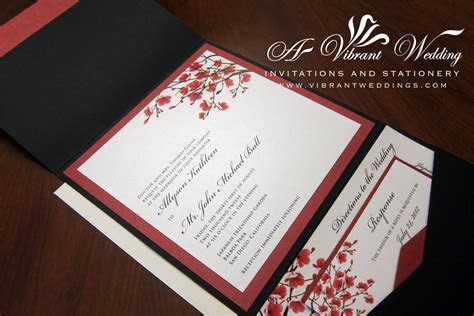 Red Wedding invitation ? A Vibrant Wedding