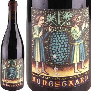 【ラベルにキズ有】Kongsgaard Syrah Hudson Vineyard [2002]【ラベルにキズ有】 / コングスガ...