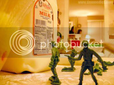 Milk fight