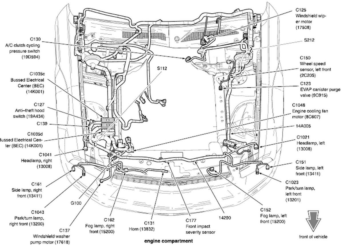 2005 Mustang Engine Diagram