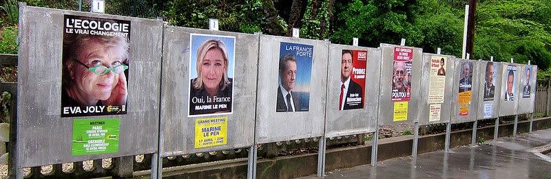 Affiches+présidentielles+2012
