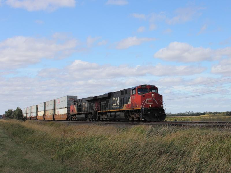 CN 2241 in Winnipeg