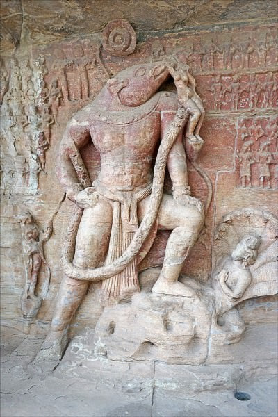 Vishnu as Varaha, Udayagiri Caves