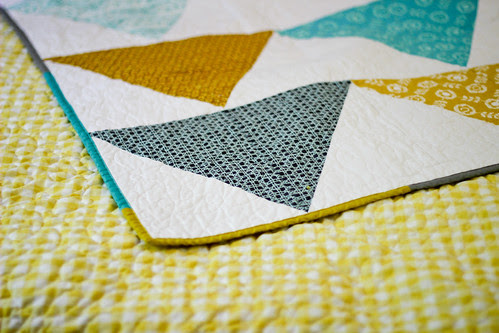 Flagged Quilt: Mini Tutorial + Giveaway! by Jeni Baker