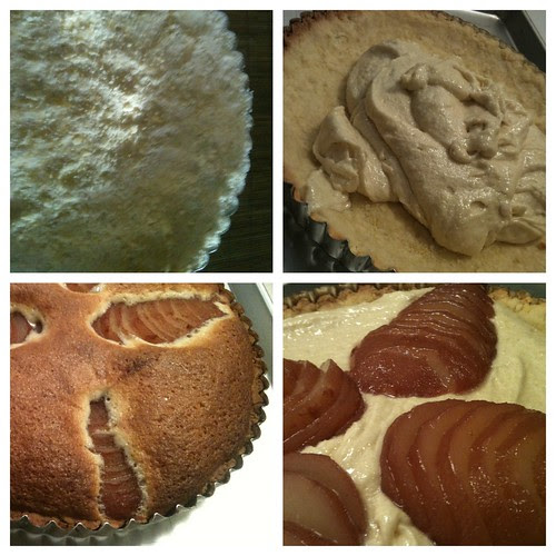 The Making of Frangipane Tart