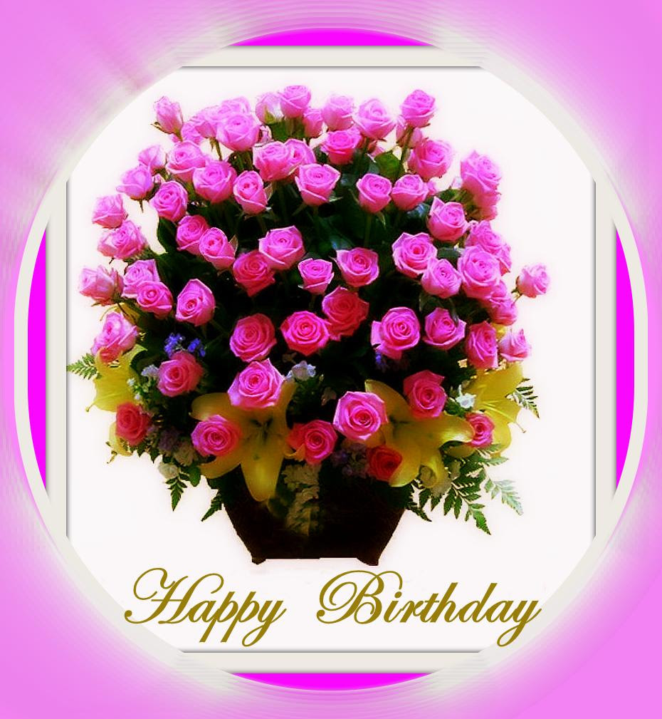 Happy Birthday Wishes Images Flowers Top Collection Of Different