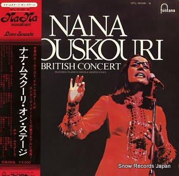 MOUSKOURI, NANA british concert