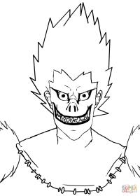 Death Note Para Colorear Mis Dibujos