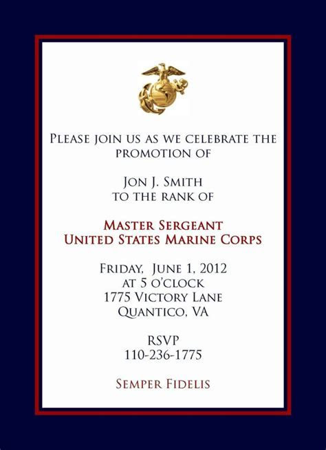 Marine Promotional announcement   A Paper Whimsy