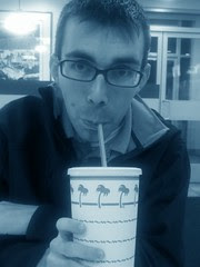 Me at In-N-Out from my Mom's POV