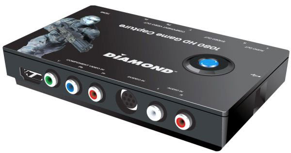 Diamond Multimedia intros GC1000 consolefriendly realtime HD video capture device