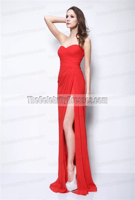Taylor Swift Hot Red Prom Dress Evening/ Bridesmaid Gown