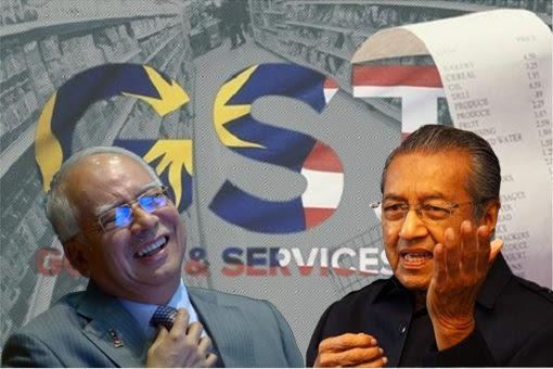 Return Of GST - Najib Laughs At Mahathir