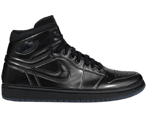 the latest 7d000 5034e Nike Air Jordan AJ 1 Retro Anodized Black Anthracite Mens Shoes 414823-002- 8.5