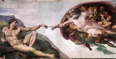 Creación de Adán. Capilla Sixtina