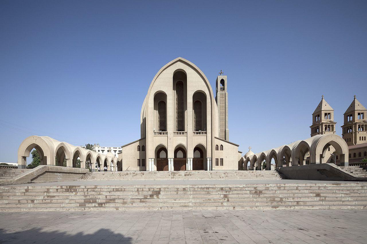 Resultado de imagen de iglesia copta de San Marcos, en Alejandría,