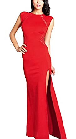 Long red evening dresses uk