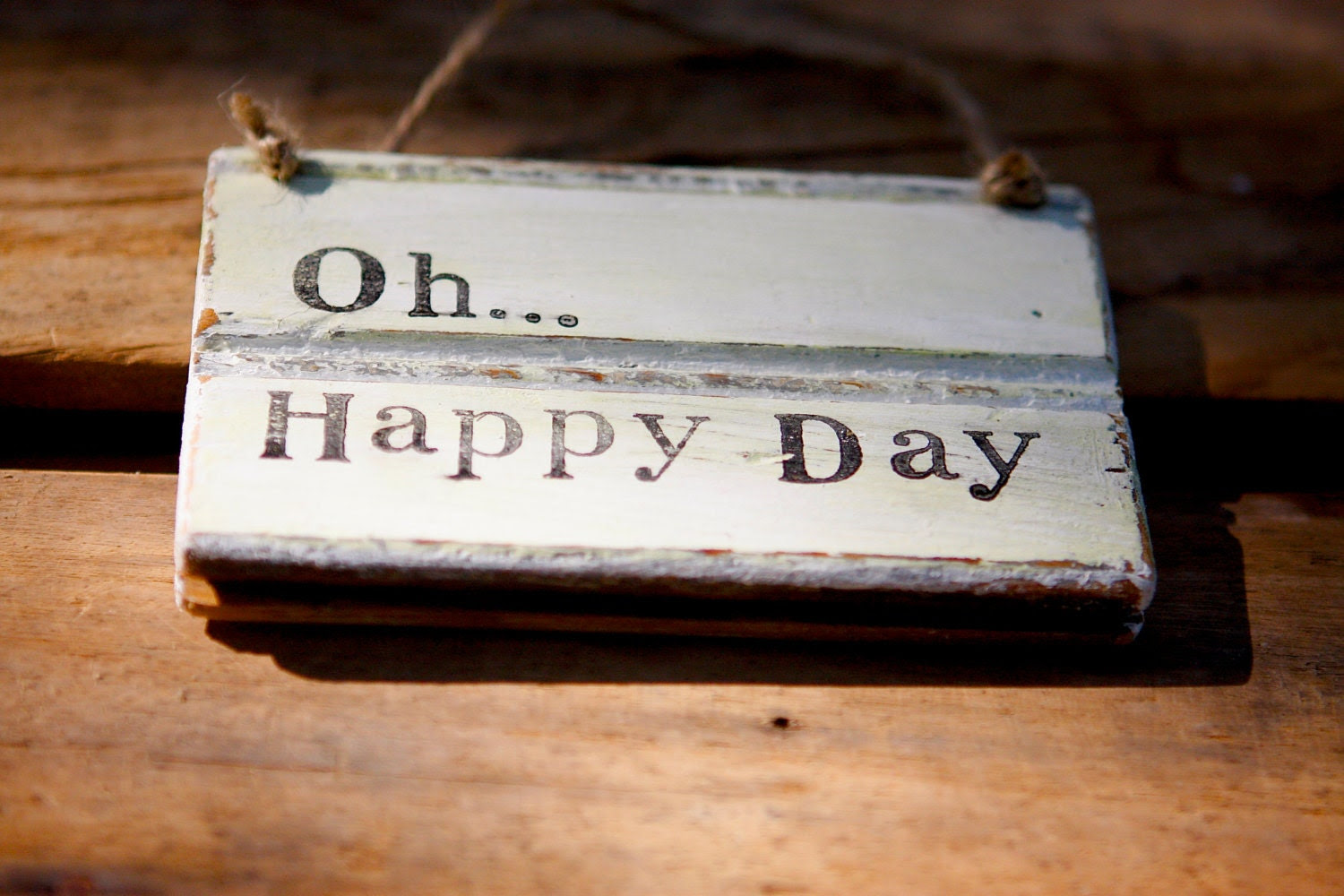 Oh Quotes Day  quotes sign Hymn Sign  Inspirational Rustic Happy  rustic  Sign