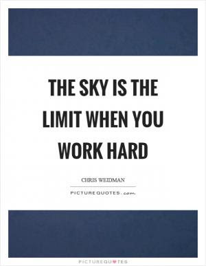 Anyone Who Thinks The Sky Is The Limit Has Limited Imagination