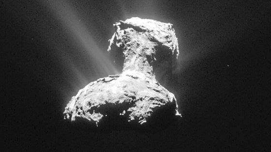 Cometa 67/P visto da nave Rosetta