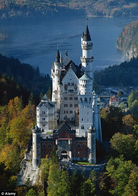 Bavaria's Neuschwanstein Castle has become so much more than Sleeping Beauty's castle, it is now the symbol of Disney itself along with a common thread in the company's biggest theme parks