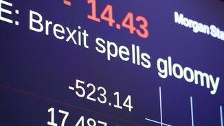 Els mercats han reaccionat amb pànic al Brexit (EFE)