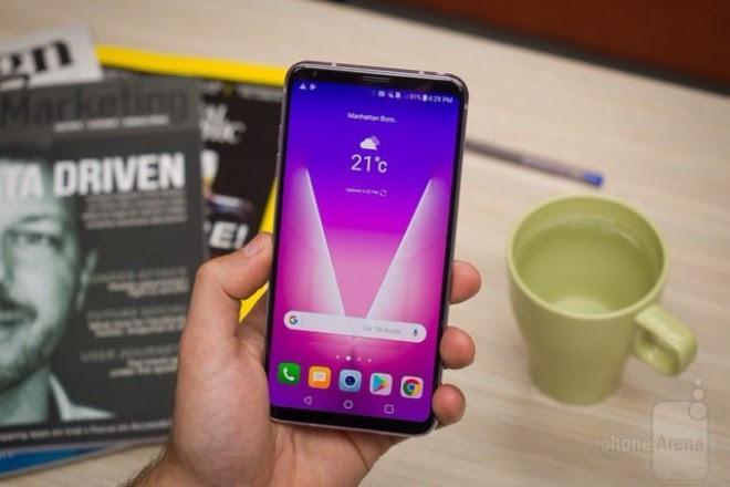 LG V35 ThinQ với camera kép, màn hình 6 inch chuẩn bị ra mắt - 1
