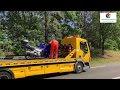 Maria Hoop / Echt / NL: Tödlicher Unfall zwischen Rad - und Motorradfahrer