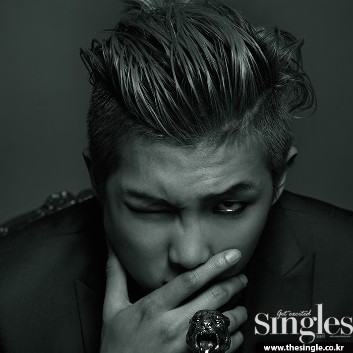 Bangtan Boys Rap Monster - Singles Magazine May Issue '15