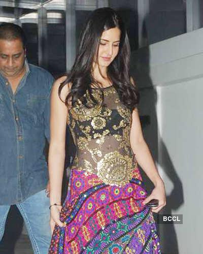 Katrina Kaif Katrina Kaif Attends Salman Khans Family Bash-6050