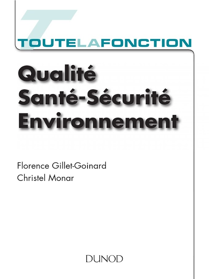 Toute la fonction Qualité Santé Sécurité Environnement