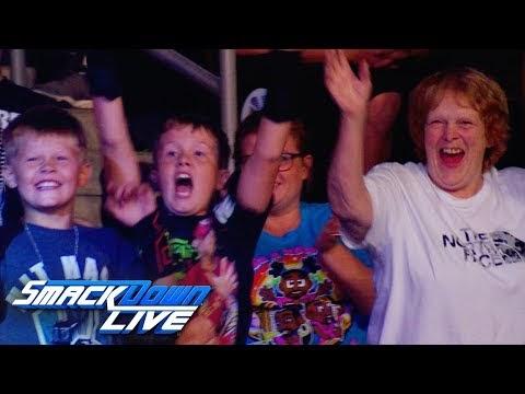 """Dance Break"" time in Sioux Falls, SmackDown, Aug. 20, 2019"