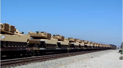m1a1 tanks