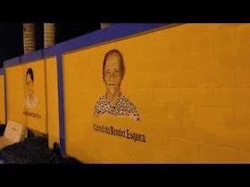 EL Alcalde, Alberto Brito Quiroz Juan Maluca, reinauguró la Plaza  de los Educadores