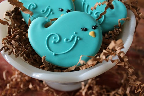 Bluebird Cookies by SweetSugarBelle