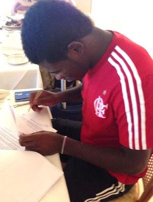 Feijão contrato Flamengo (Foto: Reprodução / Twitter)
