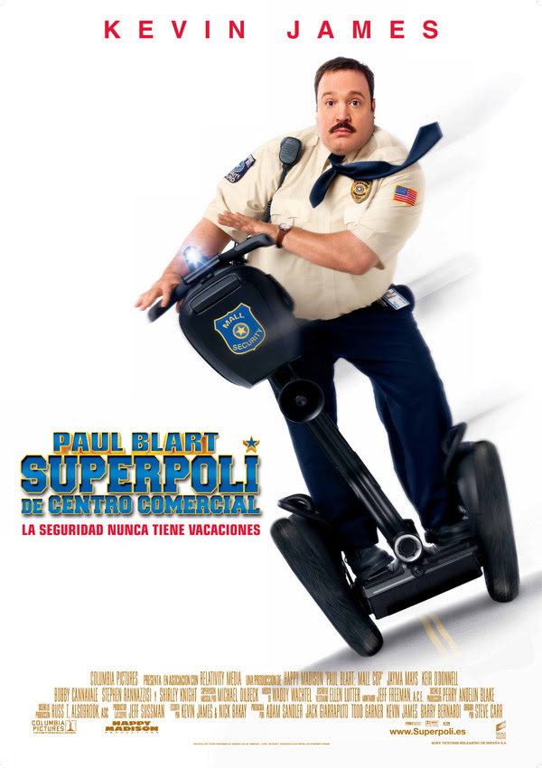 Superpoli de centro comercial (Steve Carr, 2.009)