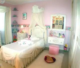 Habitación con princesas - Decoracion - EstiloyDeco