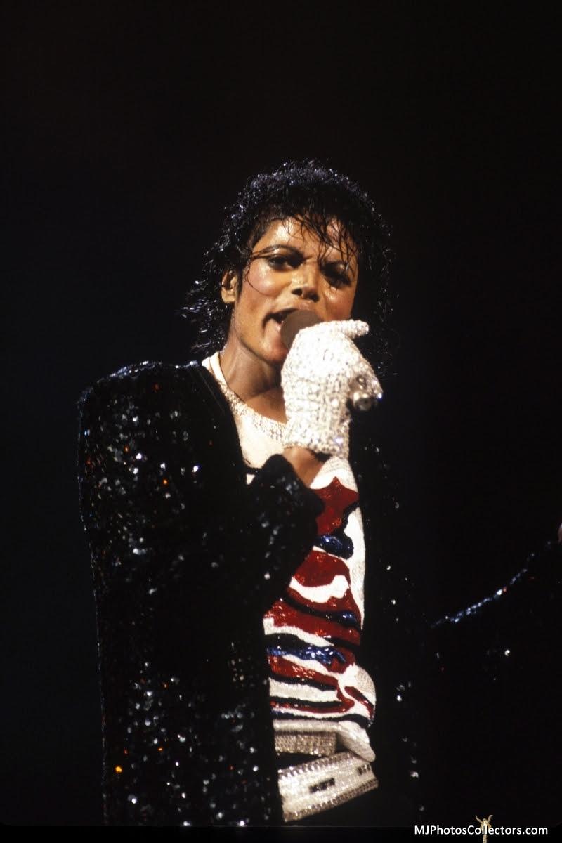 Victory Tour Billie Jean Michael Jackson Foto 12771053