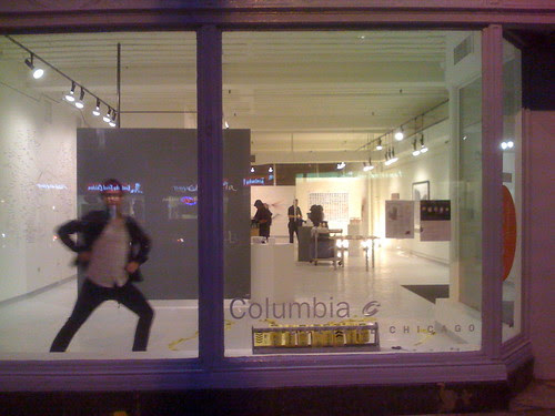 Columbia College window