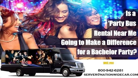 Is a ?Party Bus Rental Near Me? Going to Make a Difference