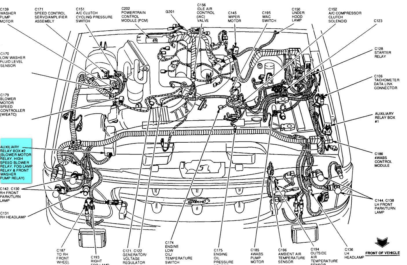Ford Ranger Diagram Engine