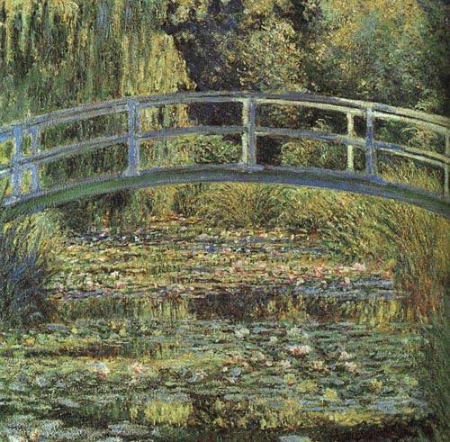 Claude Monet Le pont japonais, bassin aux nymphéas. 1900 Christie′s, 1988